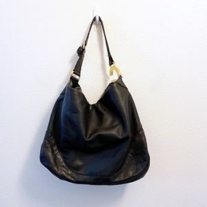 Gucci Charlotte Guccissima Hobo Bag Black